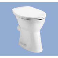 Laposöblítésű, Hátsó kifolyású WC