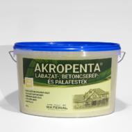 AKROPENTA - lábazat-, betoncserép- és palafesték FEHÉR4 liter