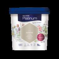 Poli-Farbe Platinum egyrétegű beltéri falfesték 2.5HAMVASKA