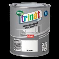 TRINÁT Aqua univerzális alapozó - Matt, fehér, vízzel hígítható alapozó és közbenső festék fa- és fémfelületekre 2,5 liter