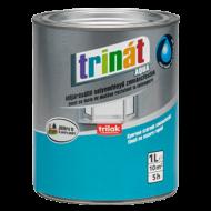 TRINÁT Aqua selyemfényű zománc 1 literszürke 200