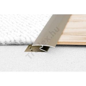 Roppantós burkolatváltó, alumínium – 35 mm Eloxált matt ezüst35