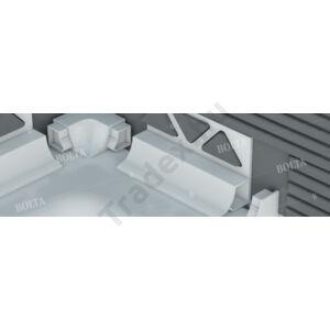 Előre beépíthető fürdőkád szegélyléc, PVC – 8 mm