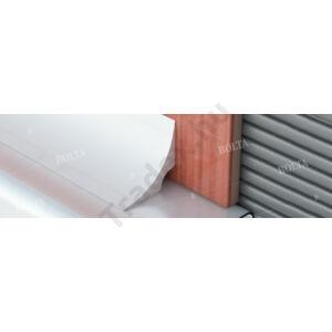 Utólagos fürdőkád szegélyléc, ragasztható, PVC – 25×25 mm