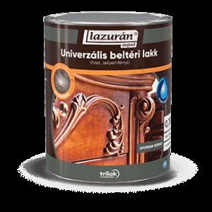 Lazurán Aqua Univerzális beltéri lakk - Vízbázisú, selyemfényű lakk
