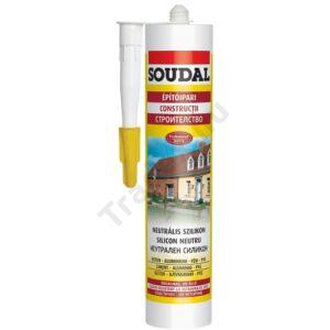 Soudal - Neutrális szilikon 280ml - transzparens